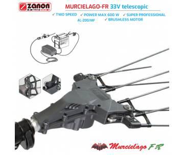 Abbacchiatore elettrico Zanon - Murcielago-FR con asta telescopica 170/250 cm Abbacchiatori
