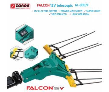 Abbacchiatore elettrico telescopico 210/340 cm Zanon Falcon 12 volt