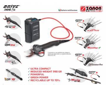 Batteria multifunzione zanon Drive 300 S 2,9 Ah - Li-ion