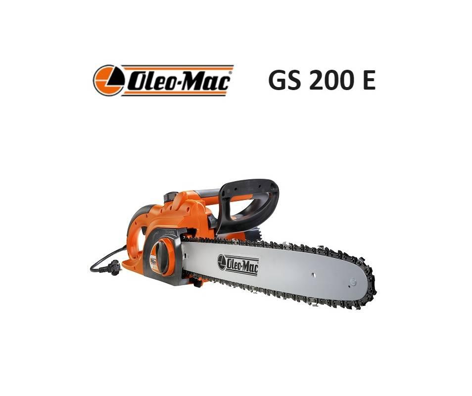 Motosega Elettrica Oleomac GS 200