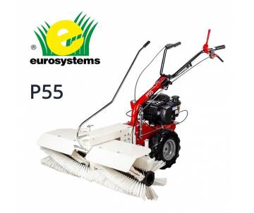 Spazzatrice P 55 - B&S serie 675 benzina - 163cc/3v avv. manuale Eurosystems