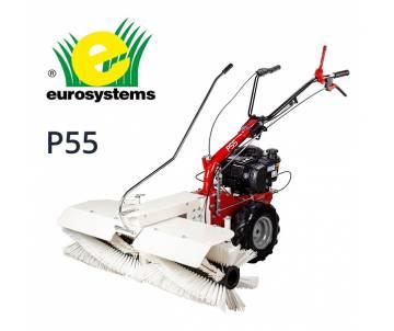 Spazzola semovente P 55 - B&S serie 675 Avv. Elettrico benzina Eurosystems